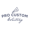 Thumb pro custom writing logo